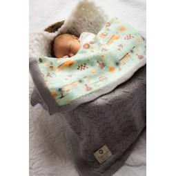 Couverture enfant en laine...