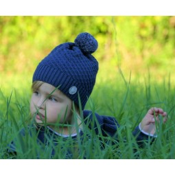 Kindermütze aus Merinowolle...
