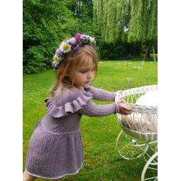 Robe pour enfant en laine...