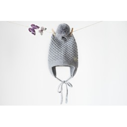 Bonnet Manx, gris