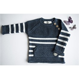 Sweater Letelle, navy blue