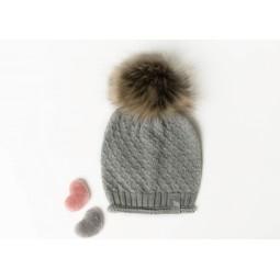 Mütze Cormo, grau