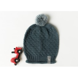 Mütze Cormo, blau, wolle...