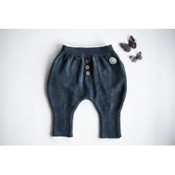 Pantaloni Chias, blu navy