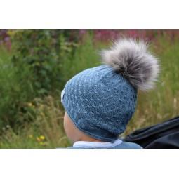 Mütze Cormo, blau