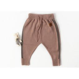 Trousers Churra , old pink