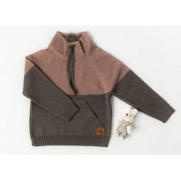 Sweater Lonk, old pink-brown